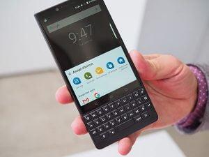 Thay màn hình blackberry key2