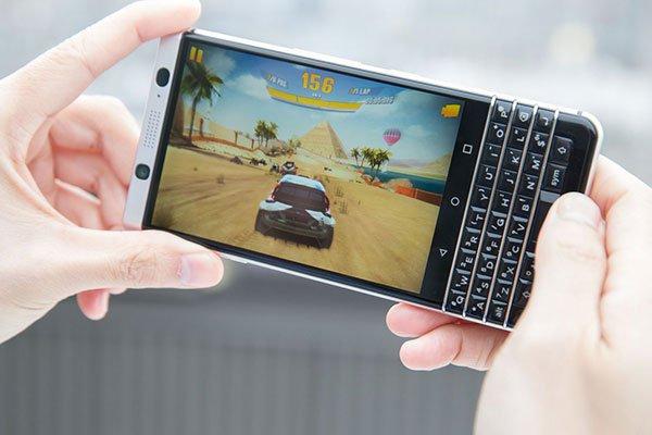 Hiệu năng chơi game của blackerry keyone