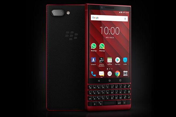 Chiếc Key2 đỏ