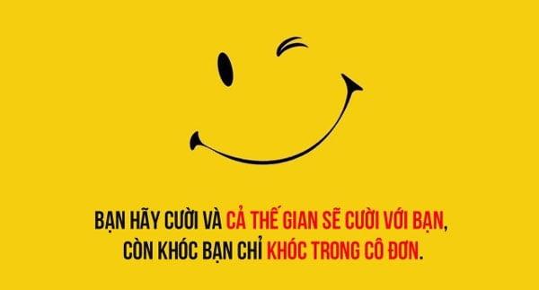 những câu nói hay về nụ cười buồn