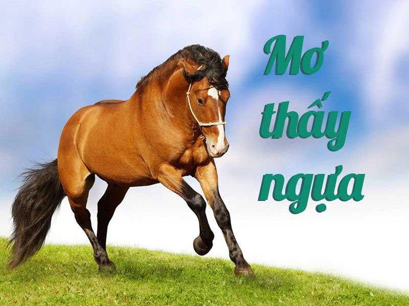 Mơ thấy con ngựa đánh con gì